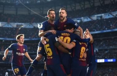 Barcelona se quedó con el clásico de España por 3-0 sobre el Real Madrid.
