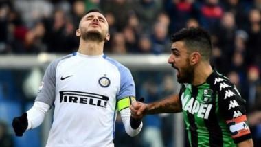 La bronca de Icardi. Inter pierde de nuevo y se hunde.