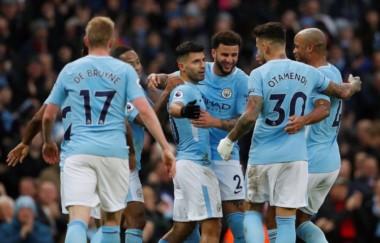 El Manchester City, líder de la Premier, ganó con un Agüero onfire: dos goles y una asistencia.