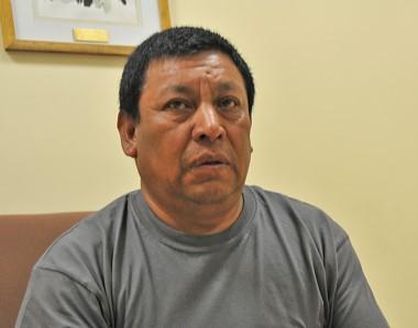 Juan Colihuinca se mostró agradecido con sus vecinos, con el intendente de Trelew y con sus abogados.