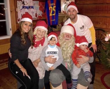 La tierna postal que compartió Messi junto a su familia y un invitado especial. La Pulga, más feliz que nunca.