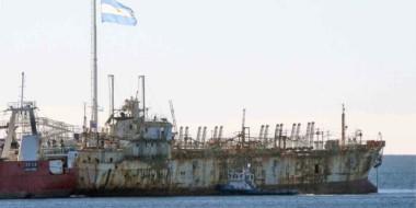 La permanencia del buque que pescaba de forma ilegal ocasionó un gasto superior a los $ 20 millones.