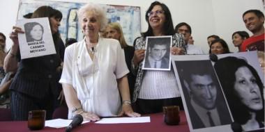 Estela de Carlotto anuncia la recuperación de la nieta 127, hija de dos militantes de Montoneros.