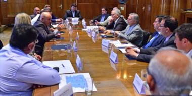 Semanas atrás los intendentes gestionaron el encuentro con Aranguren donde se habló sobre minería.