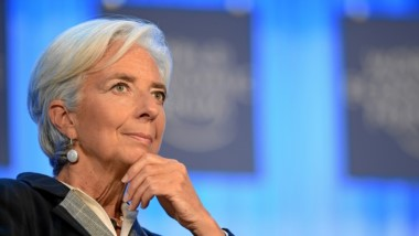 Cristine Lagarde, directora ejecutiva del Fondo Monetario Internacional.