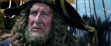 """El ganador del Oscar en una de sus personificaciones más reconocidas: el capitán Héctor Barboza, en la saga de """"Piratas del Caribe """"."""