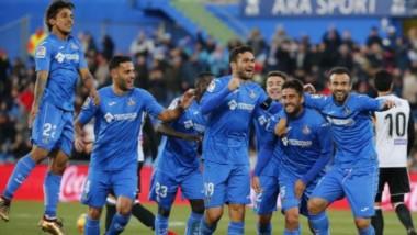Un solitario gol de Bergara le dio el triunfo a Getafe.