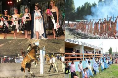 Fiestas. Las postales se multiplican en Chubut y los eventos ganarán en intensidad hasta marzo de 2018.