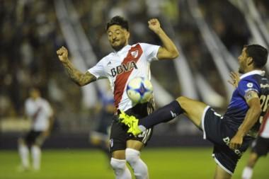 Casco cometió un error que derivó en el primer gol de Gimnasia.