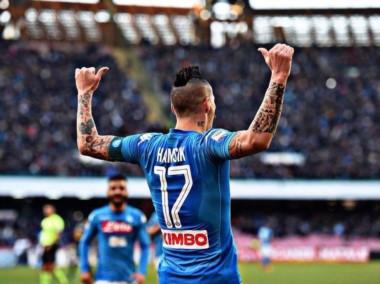 Hamsik se convierte en leyenda. Máximo goleador de Napoli con 116 conquistas.