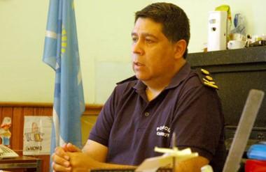 Comisario mayor José Luis Matschke, jefe de la Unidad Regional Trelew, confirmado para 2018.
