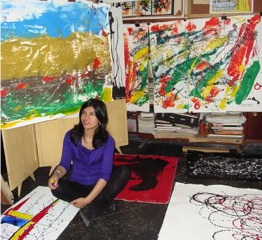 Inés Miño presentará sus trabajos en las salas principales del Museo  Municipal de Artes Visuales de  Trelew.