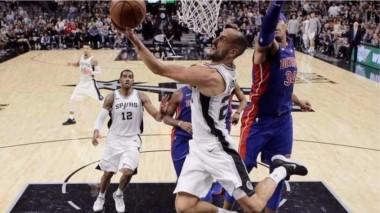 Esta vez, Ginóbili no pudo salvar a los Spurs: 4 puntos del argentino en la caída ante los Pistons por 93-79.