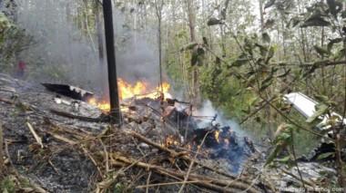 Una avioneta se estrelló en Cocorazalito, Costa Rica según reportes no hay sobrevivientes y diez de los fallecidos son turistas.