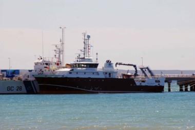 El buque de investigación