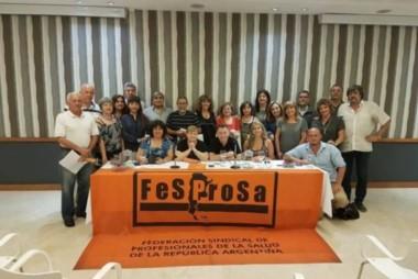 La medida es impulsada por la Federación Sindical de Profesionales de Salud (Fesprosa) después del reclamo de los trabajadores de base para protestar contra las reformas.