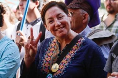 La ex candidata juzgó inaceptable las acusaciones de Sebastián Piñera y tomó partido.