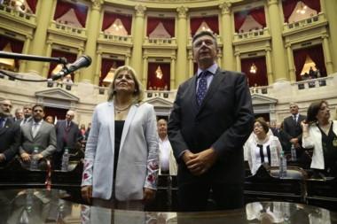 Rosa Muñoz y Gustavo Menna juraron como Diputados Nacionales