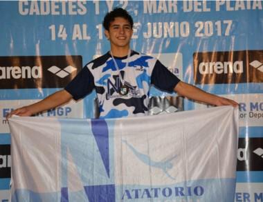 El trelewense Jerónimo Augurusa sigue sumando éxitos.