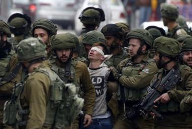 """""""Palestina contra Goliat"""" era el inmejorable epígrafe de esta imagen obtenida en Twitter."""