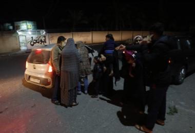 El bombardeo fue dispuesta como respuesta a unos cohetes que cayeron en el sur israelí sin causas víctimas ni daños.