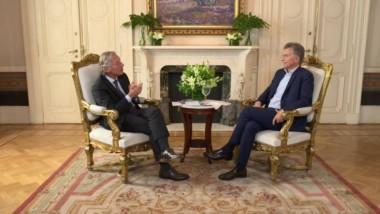 Longobardi estrena mañana un nuevo ciclo en CNN junto a Macri, entrevista sobre sus primeros dos años como presidente.