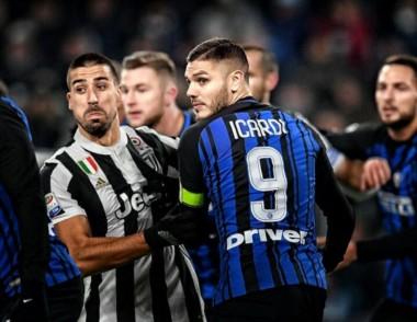 Juventus - Inter firmaron tablas. El equipo de Icardi lidera la Serie A. El de Higuaín se mantiene a dos puntos.