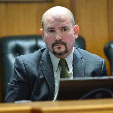 Adrián  Roberto Barrios, juez de la C ámara Penal de Trelew.