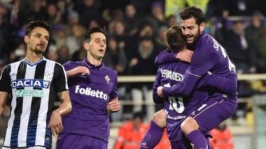 Gran victoria de Fiorentina como local ante Udinese.