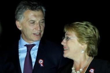 Bachelet y Macri dicen no a la