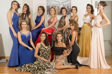 Las candidatas a reina de Comodoro Rivadavia seguirán capacitándose.