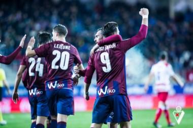 Eibar se mantuvo en la pelea por puestos de plazas europeas.