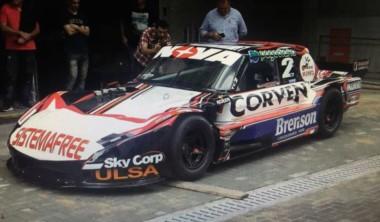 Matías Rossi presentó su Ford con el