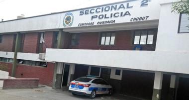 el sospechoso quedó alojado en la  Seccional Segunda de Policía de Comodoro Rivadavia.