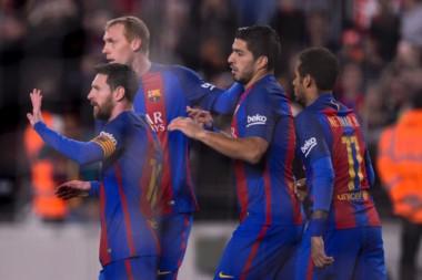 Con un penal a los 89', Messi le dio el triunfo al Barcelona.