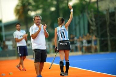 Carla Rebecchi se despidió el fin de semana en uno de los juegos contra Nueva Zelanda.