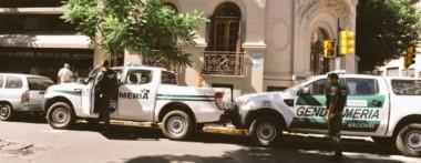 Por orden de Lijo, Gendarmería está allanando el Ministerio de Comunicaciones de la Nación.