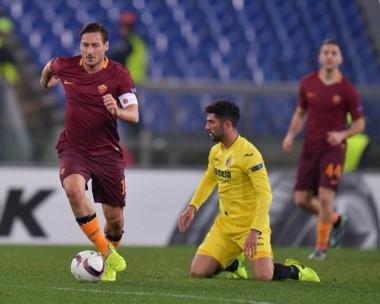 Roma perdió como local pero la goleada en la ida lo clasificó ante Villarreal.
