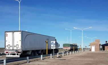 Con la nueva traza los camiones no podrán esquivar las balanzas.