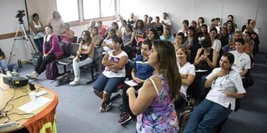 Encuentro en Madryn. La reunión permitió la participación de payamédicos de toda la región patagónica.