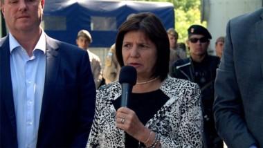"""Bullrich aseguró que la nueva Ley de Migraciones """"es la misma que tiene Bolivia"""""""