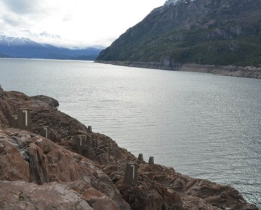 Preocupa el bajo nivel en la represa Futaleufú.