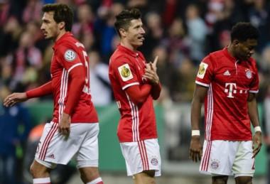Sin problemas, el Bayern eliminó al Schalke.
