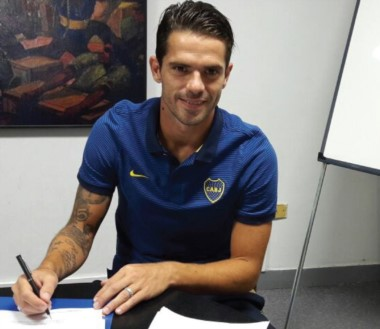 Fernando Gago renovó su contrato por 3 años más. Gran noticia para los hinchas de Boca.