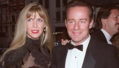 Hartman junto a Brynn Omdahl, su esposa y homicida.