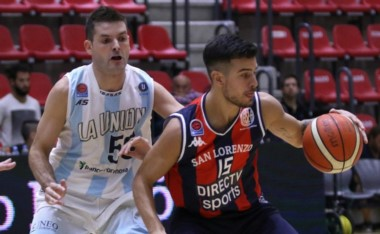Un firme San Lorenzo dominó a La Unión de punta a punta: 88-64.