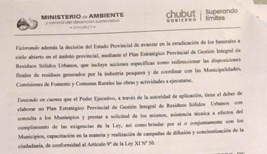 Trato hecho. El acuerdo que Ambiente firmó con la Municipalidad.