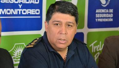 Comisario mayor José Luis Matchske, jefe de la Unidad Regional Trelew.