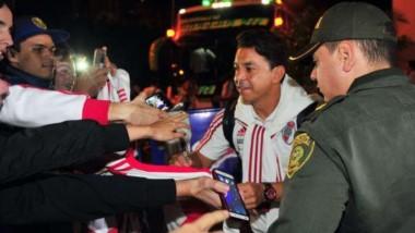 River fue recibido de la mejor manera en Medellín.