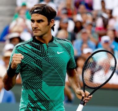Federer alcanzó la victoria N° 1091 de su carrera, la 333ª en torneos M1000, la 55ª en Indian Wells y la 11ª del año.